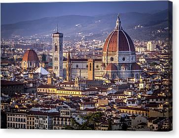 Firenze E Il Duomo Canvas Print