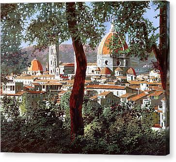 Firenze Canvas Print by Guido Borelli