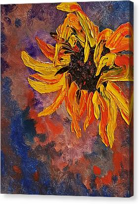 Firespace Flower  27 Canvas Print