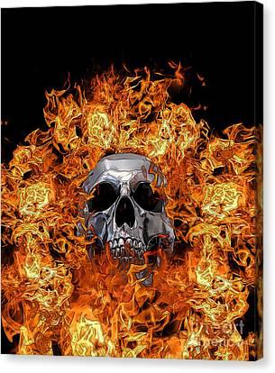 Chris Evans Canvas Print - Firestarter  by Chris Evans