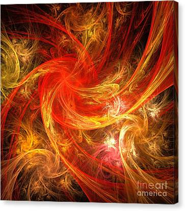 Firestorm Canvas Print by Oni H
