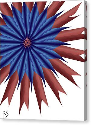 Firewerx Canvas Print by Kevin  Sherf