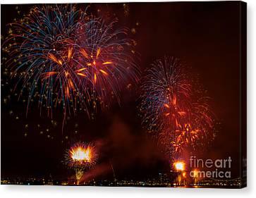 Firework 3 Canvas Print