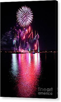 Fireworks 1 Canvas Print by Butch Lombardi