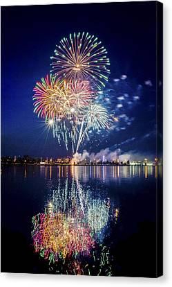 Fireworks - 7 Canvas Print