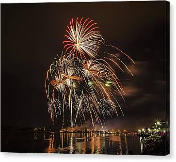 Fireworks - 8 Canvas Print