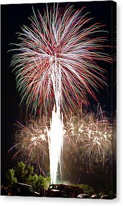 Fireworks Canvas Print by Ernesto Grossmann