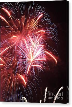 Fireworks Canvas Print by GabeZ Art