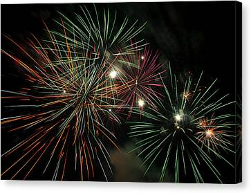 Fireworks Canvas Print by Glenn Gordon