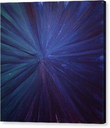 Canvas Print - Fireworks I by Anna Villarreal Garbis