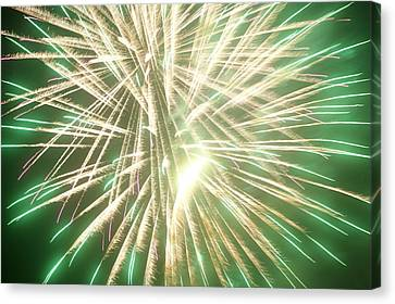 Fireworks Canvas Print by Ronald Britton