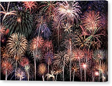 Fireworks Spectacular II Canvas Print