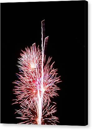 Fireworks1 Canvas Print by Malcolm Howard