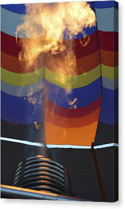 Firing Up Canvas Print