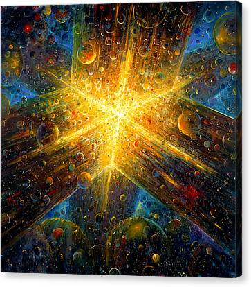 Firmament Canvas Print by De Es Schwertberger