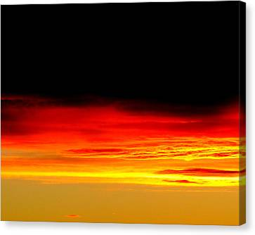 Fire In The Sky. Canvas Print