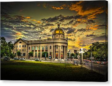 First Baptist Church Of Tampa Canvas Print