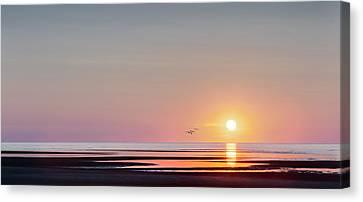 First Encounter Beach Cape Cod Canvas Print