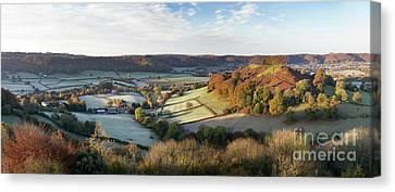 First Frosts  Canvas Print by Tim Gainey