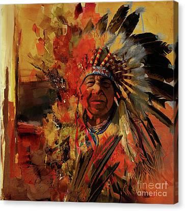 First Generation 07b Canvas Print by Gull G