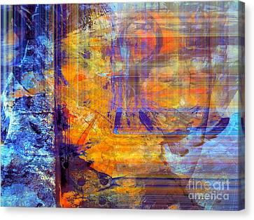 Goree Canvas Print - First Goree  Blues by Fania Simon