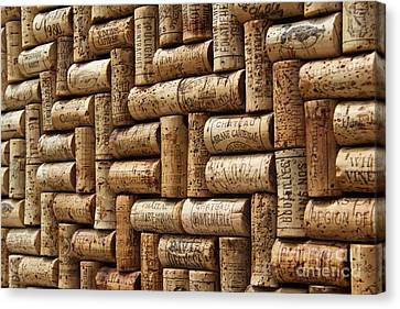 First Growths Of Bordeaux Canvas Print by Anthony Jones