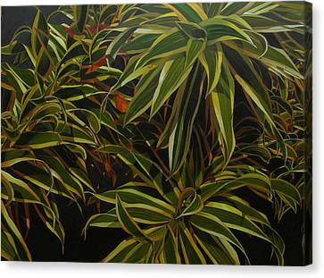 Canvas Print featuring the painting First In Cabot by Thu Nguyen