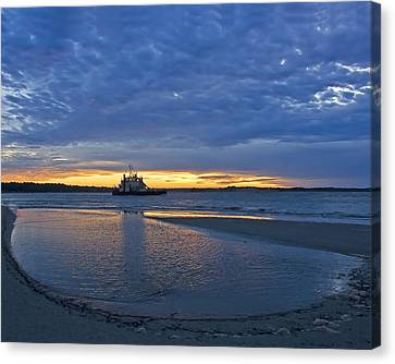 Canvas Print featuring the photograph First Light by Alan Raasch