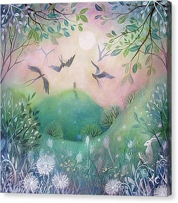 First Light Canvas Print by Amanda Clark