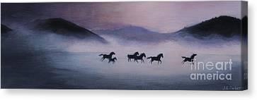 First Light Canvas Print by Jordan Parker