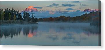 First Light Of Dawn Canvas Print
