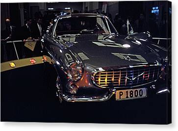 Canvas Print featuring the photograph First Look P 1800 by John Schneider