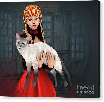 First Love Canvas Print by Jutta Maria Pusl