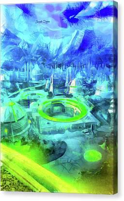 First Order City Canvas Print by Leonardo Digenio