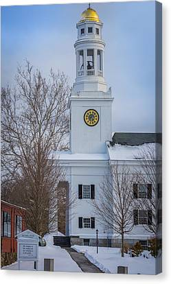 First Parish In Concord, Massachusetts Canvas Print by Jean-Louis Eck