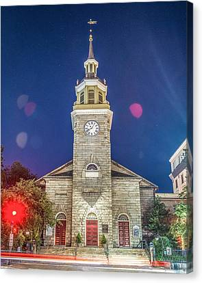 First Parish Canvas Print