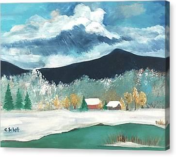 First Pennsylvania Snow Canvas Print