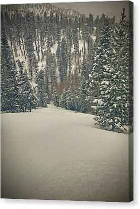 first turns Friday  Canvas Print by Mark Ross