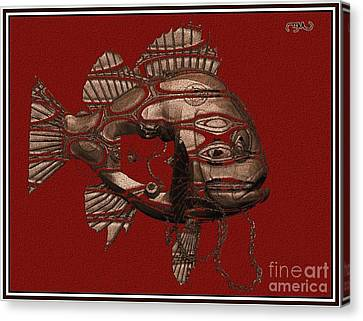 fish 1F Canvas Print