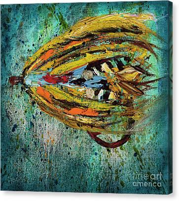 Fish Catcher 3 Canvas Print