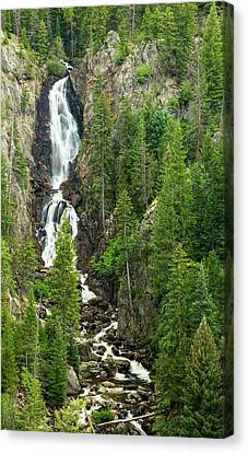 Fish Creek Falls Canvas Print by Adam Pender