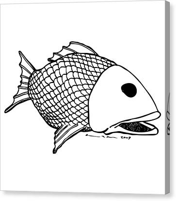 Fish Canvas Print by Karl Addison