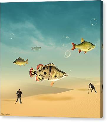 Fish Life  Canvas Print by Mark Ashkenazi