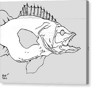 Fish Canvas Print by Nicholas Tullis