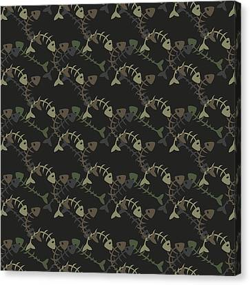 Fish Pattern  Canvas Print