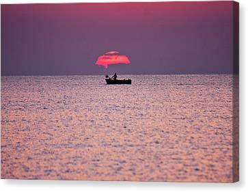 Fisherman Canvas Print by Bruno Spagnolo