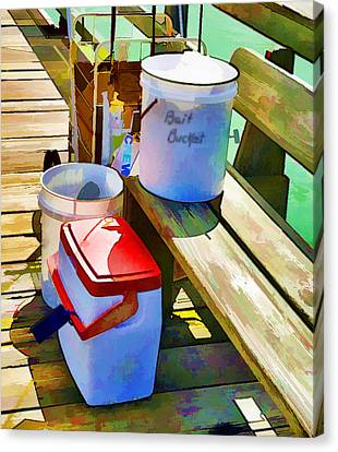 Fisherman's Buckets Canvas Print