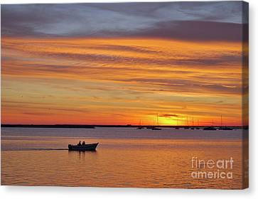Fisherman's Return Canvas Print