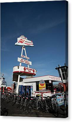 Fisherman's Wharf Bike Rental Canvas Print