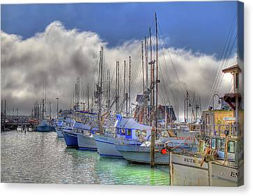 Canvas Print featuring the photograph Fisherman's Wharf by Donna Kennedy
